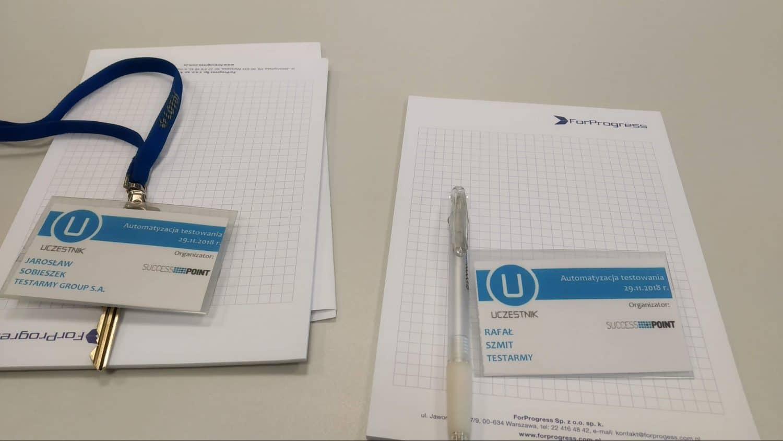 automatyzacja testowania - konferencja